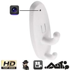 HD Motion Detection Spy Clothes Hook Hidden Camera DV DVR Cam Support 16GB L
