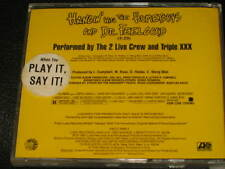 2 LIVE CREW TRIPLE XXX - Hangin' With The Homeboys And Dr. Feelgood Promo CD!