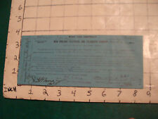 telephone item: CONTRACT AUG 4 1911 signed, hyde park (blue) #2