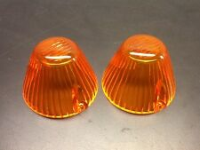VW AirCooled Front Turn Signal Lenses 64-69 Ghia & 66-69 Type 3  Prt# 315953161D
