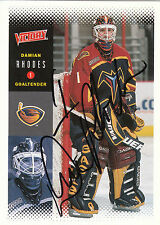 DAMIAN RHODES THRASHERS AUTOGRAPH AUTO 00-01 UPPER DECK VICTORY #13 *28479