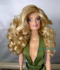 WIG size 4 Fits Barbie / Barbie size dolls Ginger by Monique  Peach and Ginger *