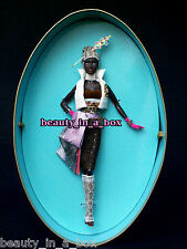 Coco Barbie Doll Chapeaux Collection Byron Lars Designer AA African American ""