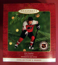 "2000 Hallmark - ERIC LINDROS - #4 Release in ""Hockey Greats"" Series (MIB)"