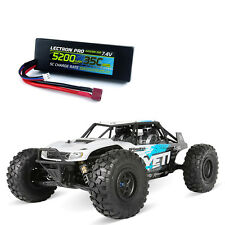 New Axial 1/10 Yeti 4WD R/C Rock Crawler Kit w/Free 7.4V 5200 Lipo AXI90025