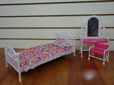 Gloria, Barbie size Furniture/(9314) Bedroom Set