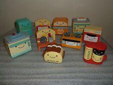 Complete Set Kabaya Woodmate Petit Kitchen Wood Furniture 10 Items Mint MIB