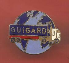 Pin's pin CAMION SOCIETE GUIGARD (ref CL09)