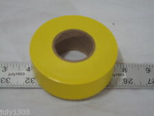 """(1) roll Yellow Flagging Tape 1-3/16"""" x 300' 2 mil Trail Marking Free Shipping!!"""