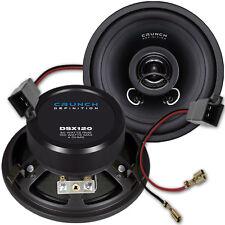 ★ Crunch DSX-120 - DSX120 12cm Koax Lautsprecher Paar für VW T4 1990 bis 2003