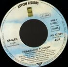 "EAGLES heartache tonight 7"" WS EX/- german asylum AS 12 394"