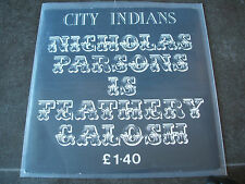 "city indians nicholas parsons is feathery galosh 1988 uk safe label 7"" peck 001"