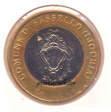 MEDAGLIA ECCO L'EURO 1 EURO COMUNE DI SASSELLO EMISSIONE PRIVATA 2000