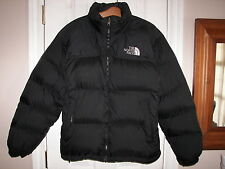 Womens THE NORTH FACE NUPTSE 700 Goose Down Ski Parka Puffer Black Jacket M