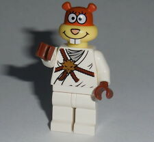 "SPONGEBOB #04 Lego ""Karate Sandy"" custom NEW NINJA Genuine Lego parts"
