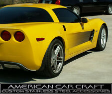 2005-13 Corvette Black to Clear Side Door Graphics -Fades to Paint Color LH & RH