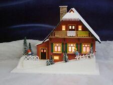Lichterhaus Haus am Hang 40cm Weihnachtshaus NEU Erzgebirge Seiffen