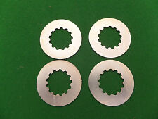 FOUR YAMAHA TAB LOCK WASHERS 90215-21022 TZ TR RD DT 125 175 200 250 350