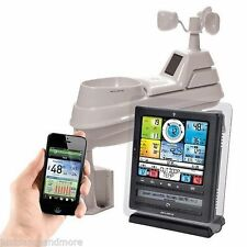 """Acurite PRO Color 8"""" Wireless Weather Station with PC/Phone Connect 5 in 1"""