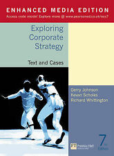 Exploring Corporate Strategy: Text and Cases: Media Edition by Richard Whitting…