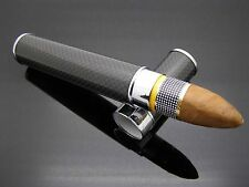 "COHIBA CARBON FIBRE STAINLESS STEEL CIGAR HUMITUBE ""SHIPPED FAST FROM USA"""