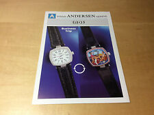 Press Release SVEND ANDERSEN - EROS - Business Trip - Watch NOT Included