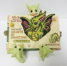 Pocket Dragons Believe in Dragons WAS a Members Only Piece with Certificate &Box