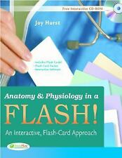 Anatomy & Physiology in a Flash! Book & Flash Cards: An Interactive, Flash-Card