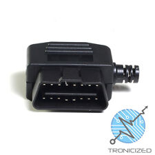 OBDII OBD2 16 Pin Conector Plug Macho Cable Salida ~ Distribuidor Lado UK 1 stCLASS