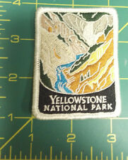 New Traveler Series Patch - Yellowstone National Park - Wyoming - Embroidered