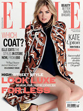 ELLE Magazine UK BRITISH September,Kate Upton FREE Magazine Supplement  SEALED