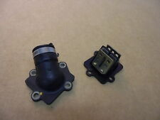 03' Bombardier Can-Am DS90 DS-90 ATV / OEM REED CAGE WITH RUBBER CARB BOOT