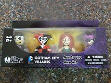 DC Mini Mezitz 4-pack Gotham City Villain Joker Harley Quinn Poison Ivy Catwoman