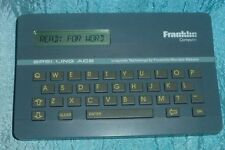Franklin Spelling Ace SA-98 Computer Merriam Webster Proximity Electronic word