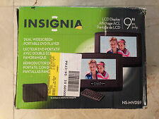 "Insignia NS-MVDS9 9"" 16:9 Widescreen Portable DVD Player with Extra Monitor"
