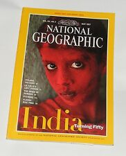 NATIONAL GEOGRAPHIC MAGAZINE MAY 1997 - INDIA/ICELAND/PYTHONS/DAWN OF HUMANS