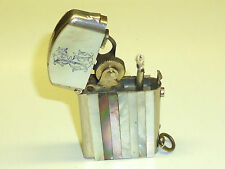 "DUBSKY ""RECORD"" SEMI-AUTOMATIC LIGHTER WITH MOTHER OF PEARL - 1910 - AUSTRIA"