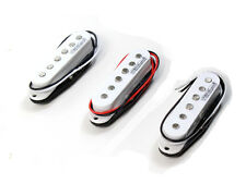 Wilkinson Electric Guitar Pickup Set Single Coil White for Strat MWVS