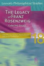 LEGACY OF FRANZ ROSENZWEIG NEW PAPERBACK BOOK