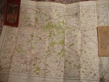 NOTTINGHAM & DERBY COALFIELDS-DUKERIES:CLASSIC ORDNANCE MAP:1923-30,ELLIS MARTIN