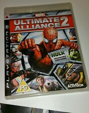 Marvel Ultimate Alliance 2 Pal Sony PlayStation 3 PS3 Game Ultra Rare excellent