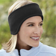 Ear Warmer WInter Polar Fleece Ski Ear Muff Head Band Unisex Stretch Spandex NEW