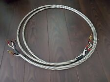 Black&White LS1202 High-End bi-wire Lautsprecherkabel 2 x 3M Länge