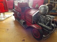 LARGE TINPLATE MODEL OF THE FAMOUS 1922 ATHENS FOX R-K-4 PUMPER NEW AND BOXED.