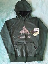 NWT Burton Dryride Womens Hoodie Full Zip Sweatshirt Jacket Fleece Pine Needle S