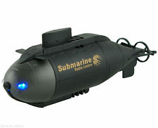 NEW Remote Control Submarine Blue LED Under Water Lights RECHARGEABLE U-BOAT