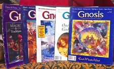 5 GNOSIS MAGAZINES ~ LONG OUT OF PRINT WESTERN INNER TRADITIONS OCCULT