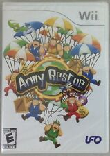 Army Rescue  (Nintendo Wii, 2009) NEW (0552-BR09)