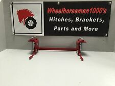 Toro Wheel Horse hitch  #104659 (RED) SNOW DOZER BLADE TILLER  BRACKET!     NEW!