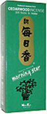 Nipon Kodo Morning Star Japanese Incense, 200 Sticks: Cedarwood (Cedar)